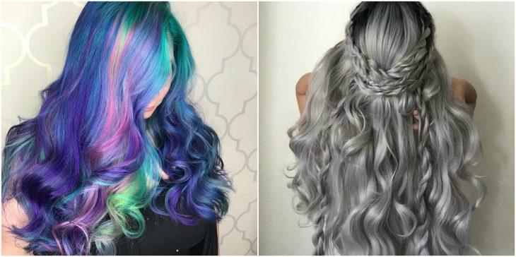 melena arcoiris vs gris