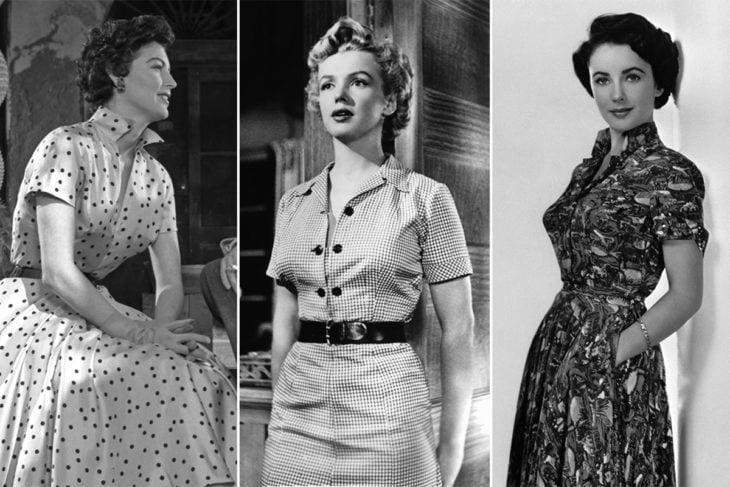 estrellas de hollywood con tea dress