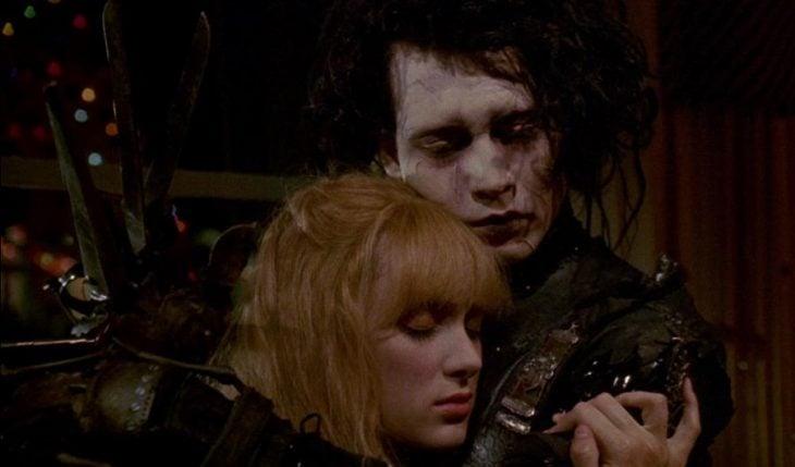 Winona Ryder y Johnny Depp, Kim Boggs y Edward Scissorhands