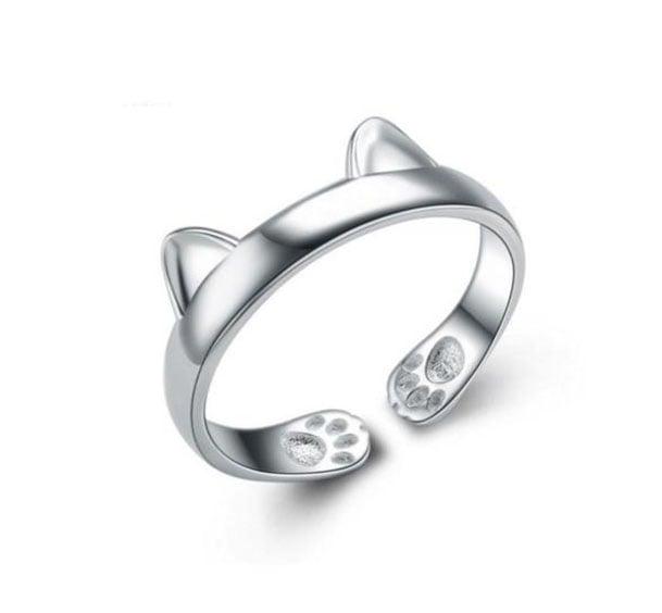 anillo de patitas y orejas