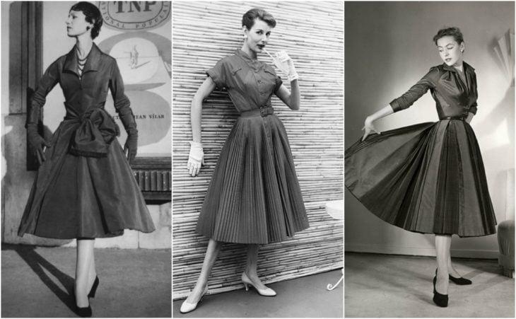 vestidos tea dress de los años 50