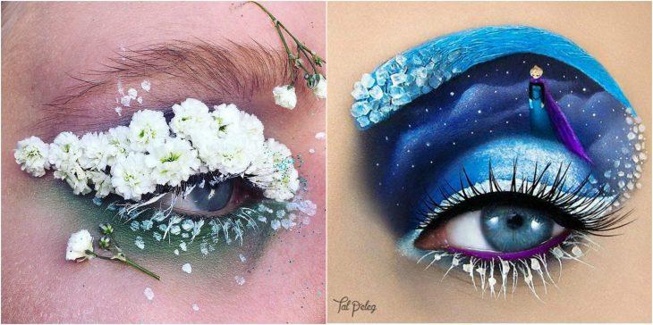 ojos de pelicula o primaverales