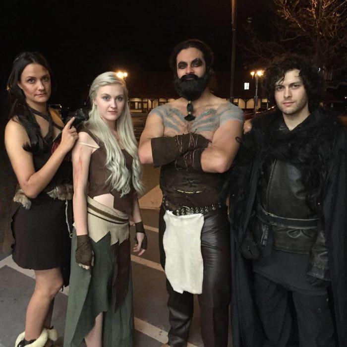 personajes de game of thrones disfraz