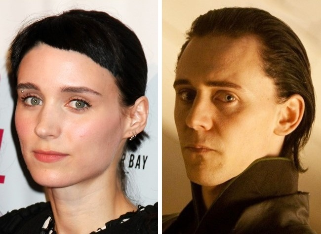 rooney mara y tom hiddleston
