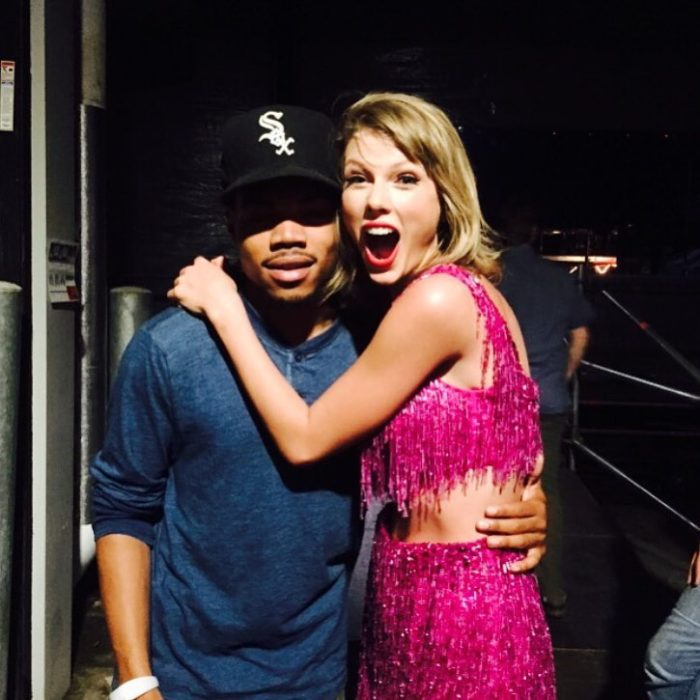 taylor conoce a chance the rapper