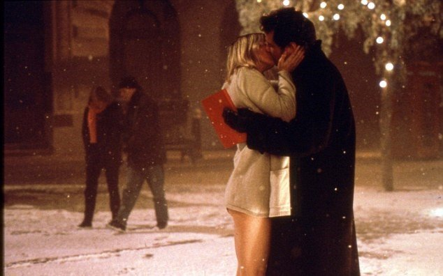 bridget jones diario beso