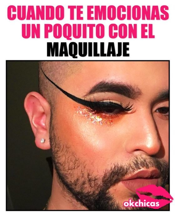 ok chicas memes maquillaje