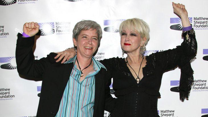 Cindy Lauper y Ellen Lauper