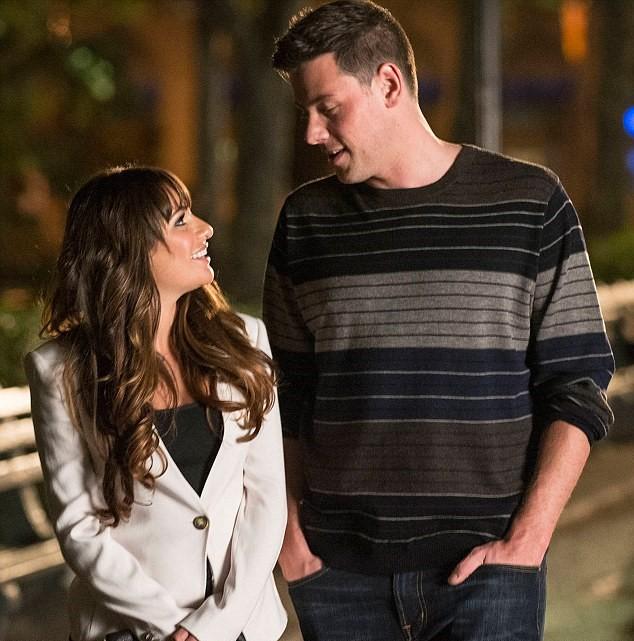 Lea Michele y Cory Monteith/ Rachel Berry y Finn Hudson