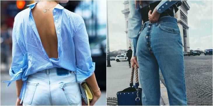 pantalones o camisas al reves