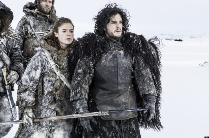 Kit Harrington y Rose Leslie, Jon Snow e Ygritte