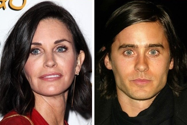 courteney cox y jared leto