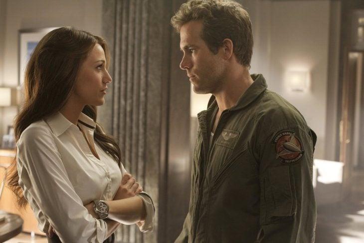 Blake Lively y Ryan Reynolds, Hal Jordan y Carol Ferris