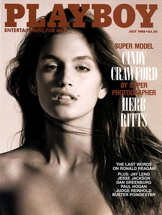 playboy cindy crawford 1998
