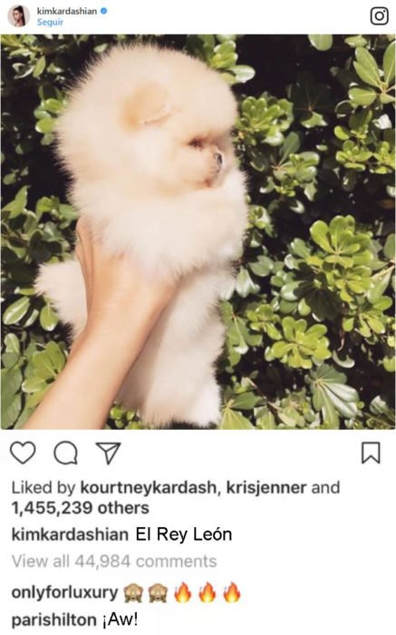 kim kardashian comentario de paris hilton