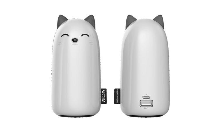 Batería portátil de gato