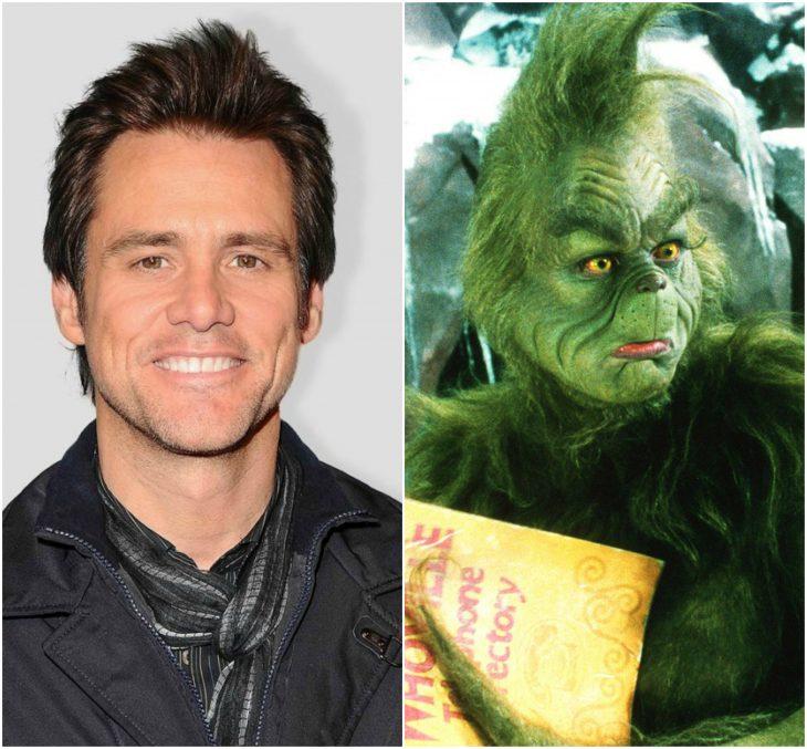 Jim Carrey como el Grinch