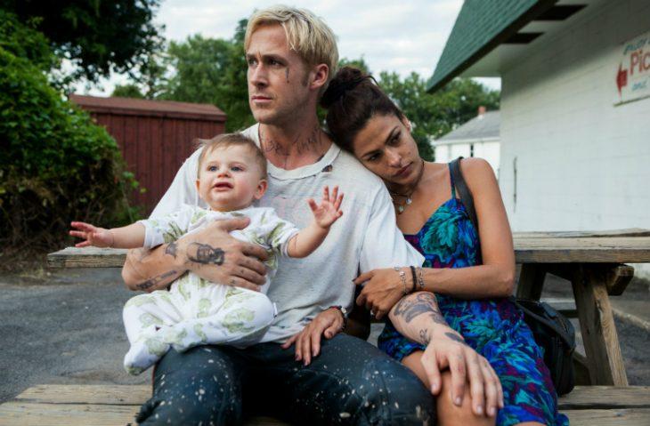 Ryan Gosling y Eva Mendes/ Luke Glanton y Romina