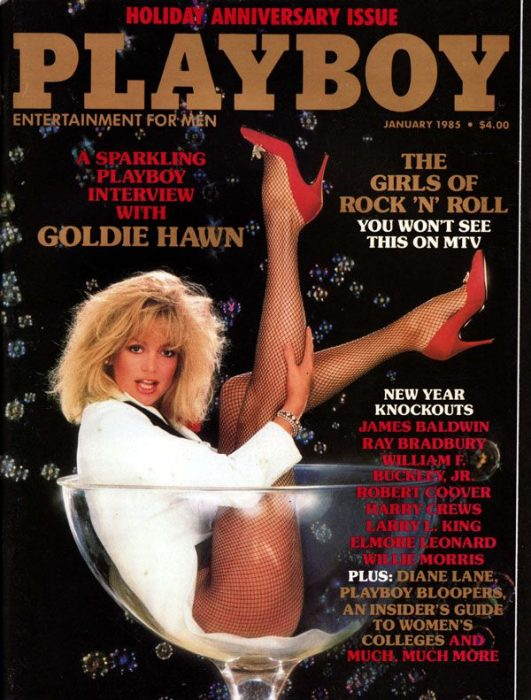 play boy goldie hawn 1985