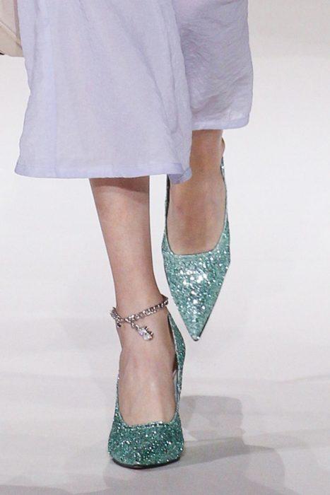 zapatillas glitter Victoria Beckham