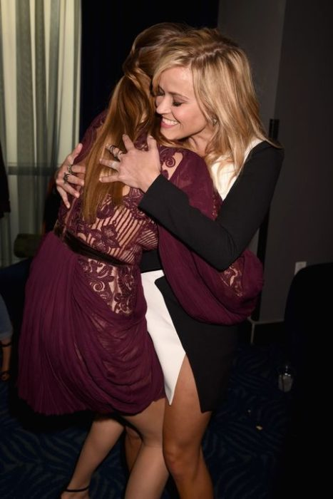 Cara Delevingne conoce a Reese Witherspoon