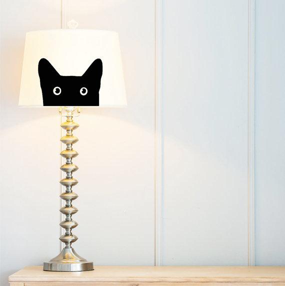 gato lampara