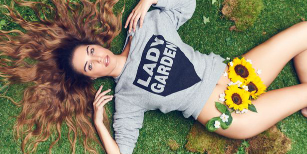chica lady garden