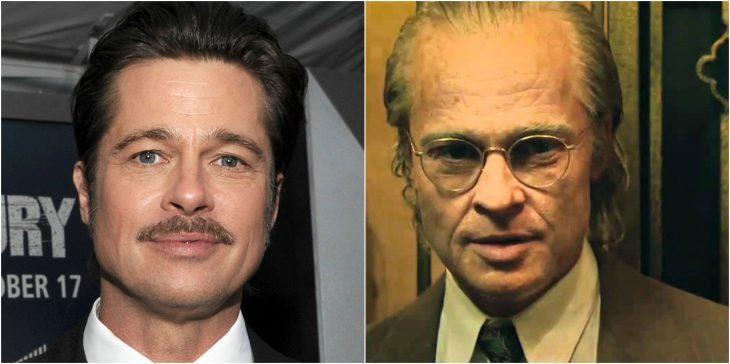 Brad Pitt como Benjamin Button