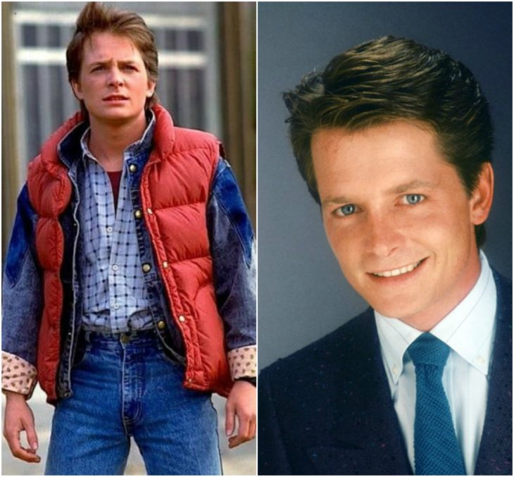 Marty Mcfly Michael J. Fox