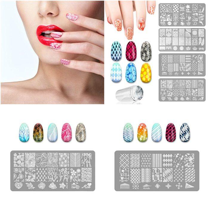 estampas de las uñas