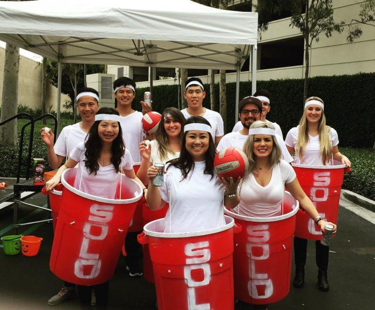 disfraz beer pong