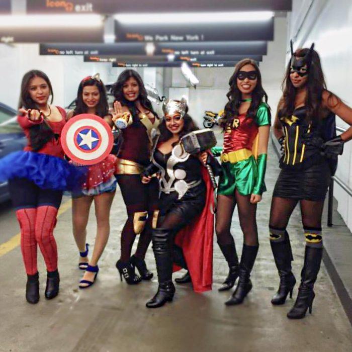 heroinas de comics disfraz