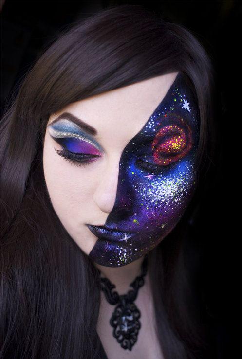 Maquillaje Gal 225 Ctico La Tendencia Que Te Llevara Al Espacio