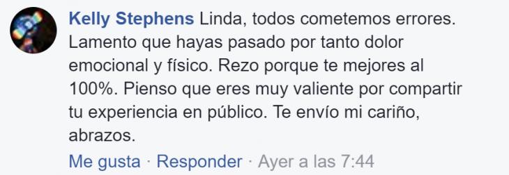comentario de facebook captura de pantall