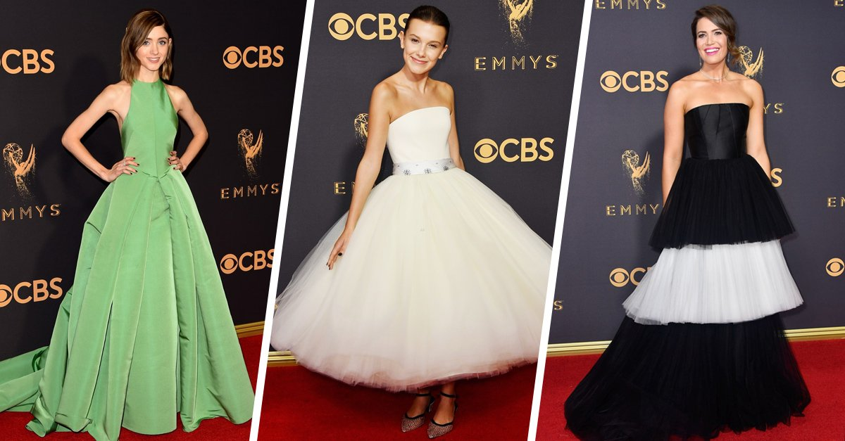 25 Vestidos que deslumbraron en la alfombra roja de los Emmy 2017