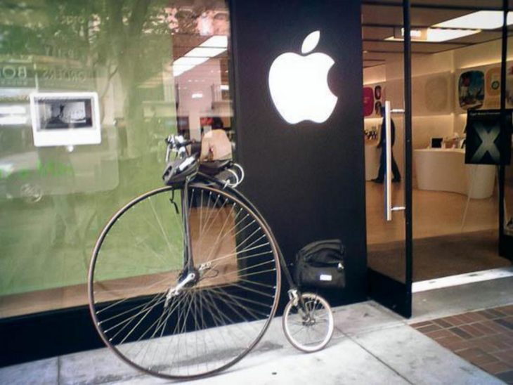 bicicleta apple