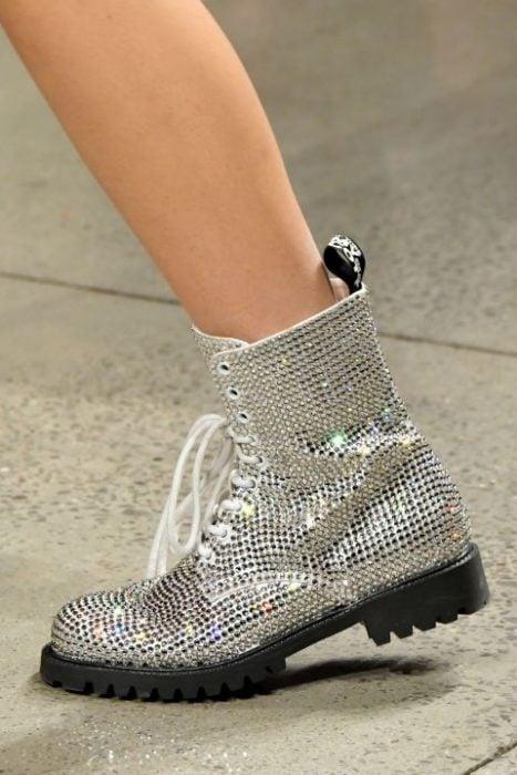 JEREMY SCOTT botas de brillos