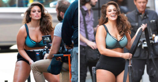 Ashley Graham, la belleza plus size, muestra sus increíbles curvas en las calles de Nueva York.