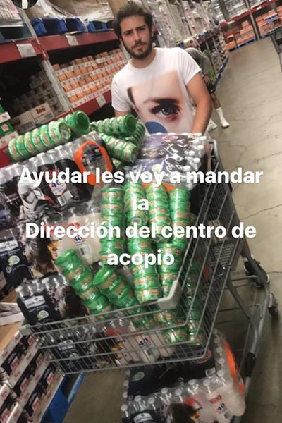 Chico de compras