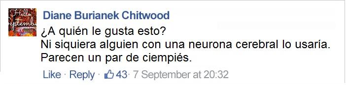comentario en facebook sobre cejas macdonald's