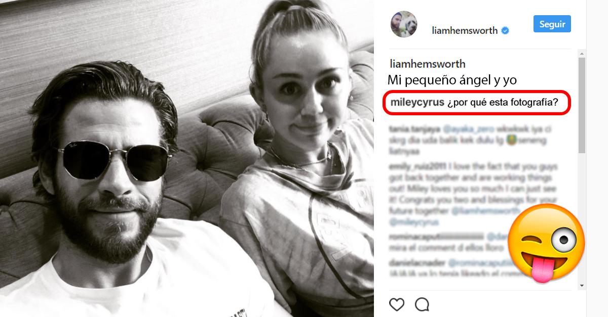 Celebridades comentando los Instagram de otras celebridades