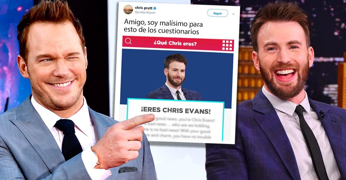 Chris Pratt contestó el test '¿Qué Chris eres?'; el resultado no fue lo que esperaba