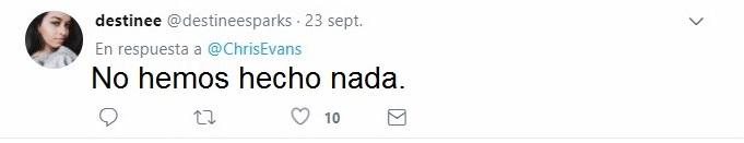 respuesta de un tuit