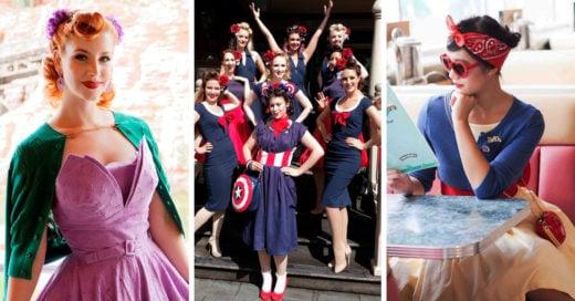 Conjuntos vintage inspirados en Disney