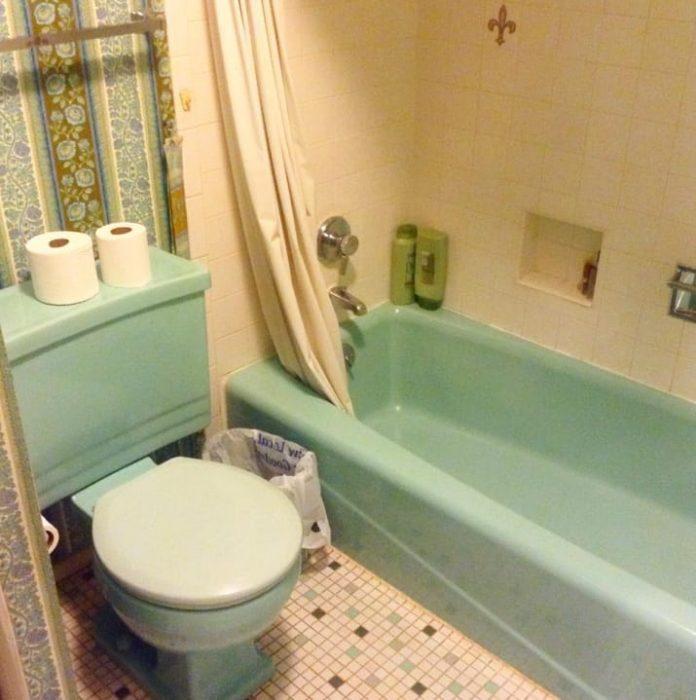 baño combinado