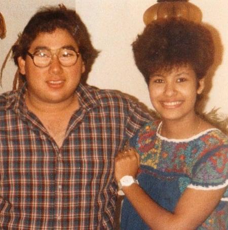 chicos con peinados de los 80
