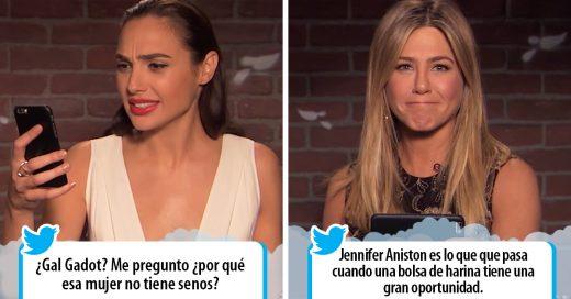 15 Famosos leyendo tuits crueles sobre ellos mismos; no podrás creer sus reacciones