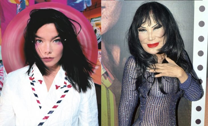 Comparación de bjork y lyn may