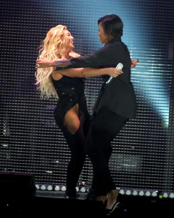 Michelle obama y Beyoncé