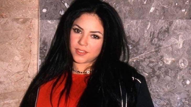 Fotos de Shakira cuando era joven